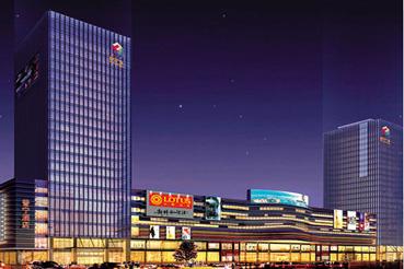 普宁广场商业中心裙楼LED屏